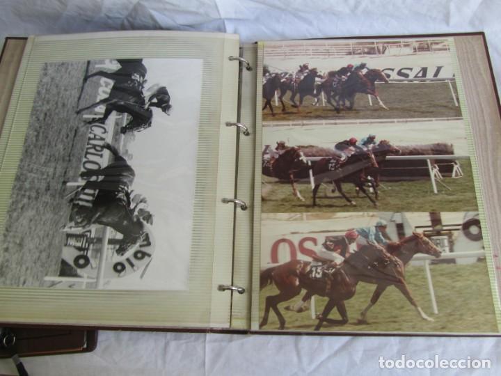 Coleccionismo deportivo: 2 álbumes de fotos de hípica años 70. Ver fotografías adicionales - Foto 13 - 158809614