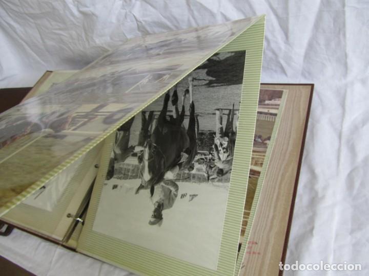 Coleccionismo deportivo: 2 álbumes de fotos de hípica años 70. Ver fotografías adicionales - Foto 14 - 158809614