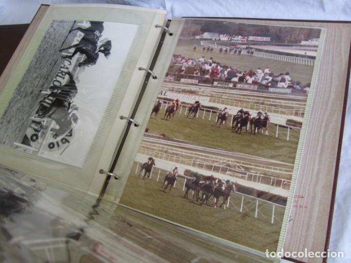 Coleccionismo deportivo: 2 álbumes de fotos de hípica años 70. Ver fotografías adicionales - Foto 15 - 158809614