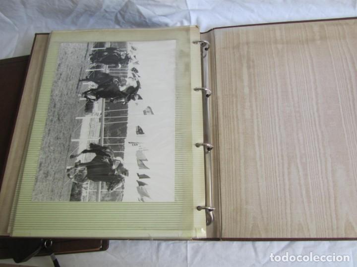 Coleccionismo deportivo: 2 álbumes de fotos de hípica años 70. Ver fotografías adicionales - Foto 16 - 158809614