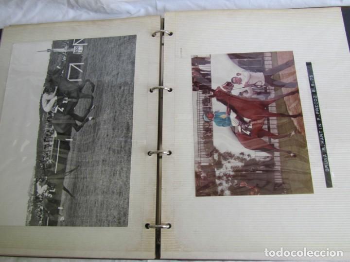 Coleccionismo deportivo: 2 álbumes de fotos de hípica años 70. Ver fotografías adicionales - Foto 28 - 158809614