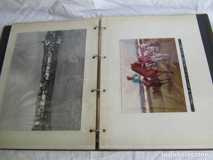 Coleccionismo deportivo: 2 álbumes de fotos de hípica años 70. Ver fotografías adicionales - Foto 29 - 158809614