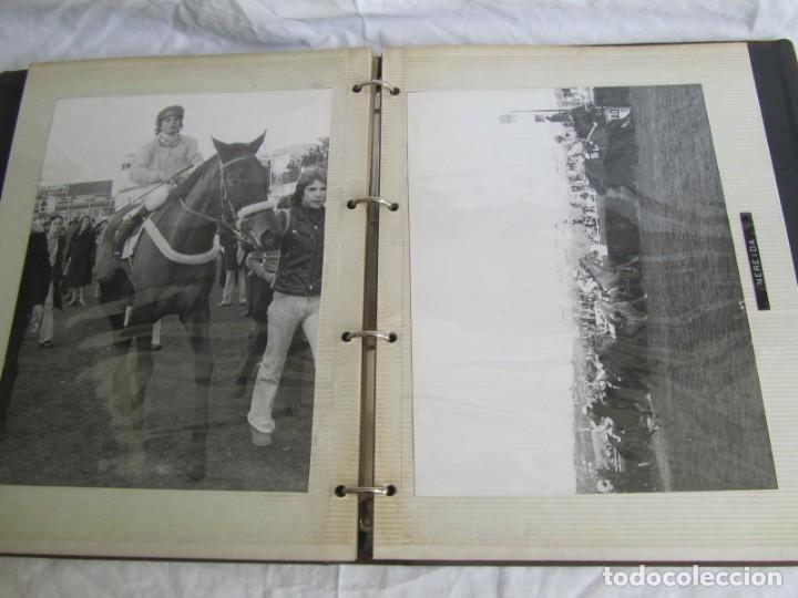 Coleccionismo deportivo: 2 álbumes de fotos de hípica años 70. Ver fotografías adicionales - Foto 31 - 158809614