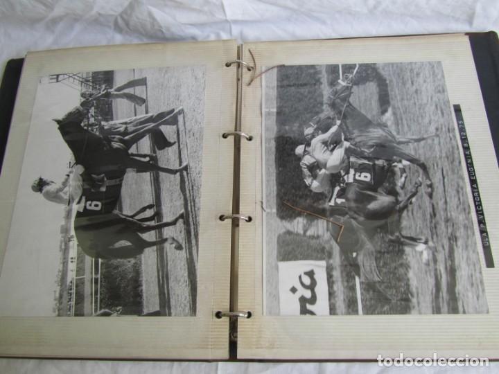 Coleccionismo deportivo: 2 álbumes de fotos de hípica años 70. Ver fotografías adicionales - Foto 33 - 158809614