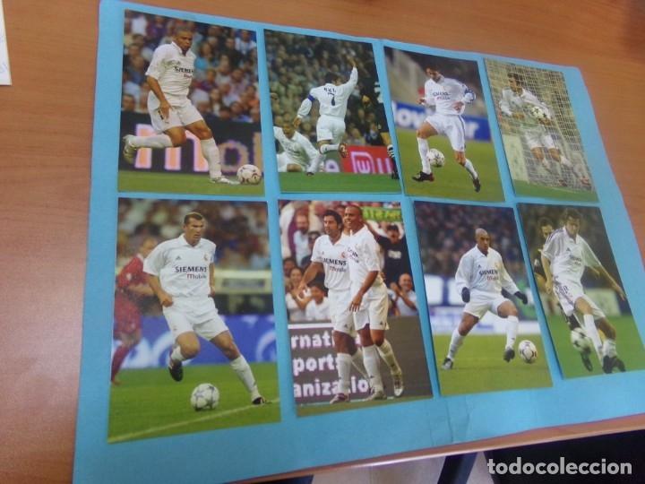 Coleccionismo deportivo: 91 foto Real Madrid producto oficial 2002-2003,sueltas a 3 euros unidad - Foto 5 - 159209106