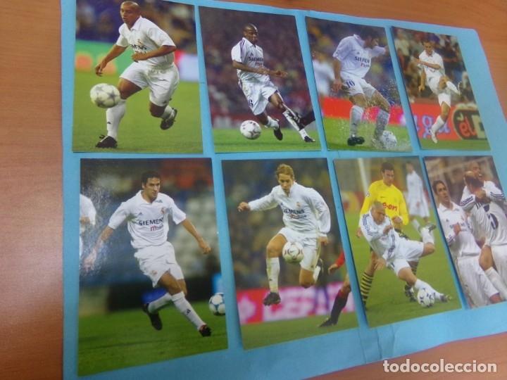Coleccionismo deportivo: 91 foto Real Madrid producto oficial 2002-2003,sueltas a 3 euros unidad - Foto 6 - 159209106