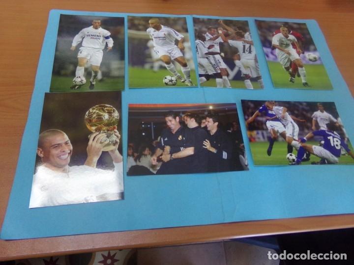Coleccionismo deportivo: 91 foto Real Madrid producto oficial 2002-2003,sueltas a 3 euros unidad - Foto 10 - 159209106