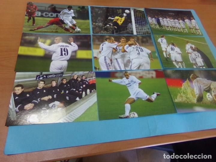 Coleccionismo deportivo: 91 foto Real Madrid producto oficial 2002-2003,sueltas a 3 euros unidad - Foto 11 - 159209106
