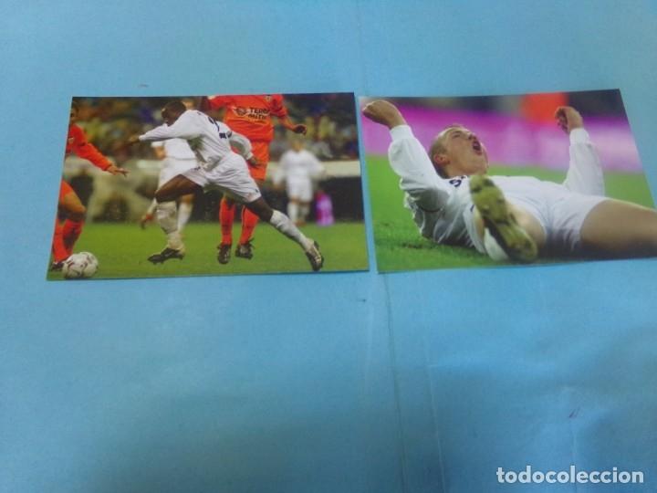 Coleccionismo deportivo: 91 foto Real Madrid producto oficial 2002-2003,sueltas a 3 euros unidad - Foto 13 - 159209106