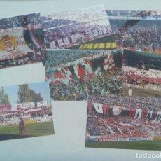 Coleccionismo deportivo: LOTE DE 7 FOTOS DE ULTRAS DEL SEVILLA. BIRIS NORTE ANTIBETICOS.. Lote 160105782