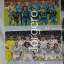 Coleccionismo deportivo: R. MADRID. LOTE 2 FOTOS ALINEACIONES CAMPEÓN SUPERCOPA DE ESPAÑA 2017 CONTRA EL BARCELONA.. Lote 160311406