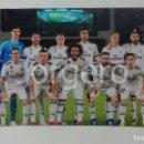 Coleccionismo deportivo: R. MADRID. ALINEACIÓN CAMPEÓN MUNDIAL DE CLUBES 2018 EN ABU DABI CONTRA AL-AIN. FOTO. Lote 160312278