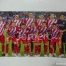 Coleccionismo deportivo: GIRONA F.C. ALINEACIÓN PARTIDO DE LIGA 2018-2019 EN EL CAMP NOU CONTRA EL BARCELONA. FOTO. Lote 160312454