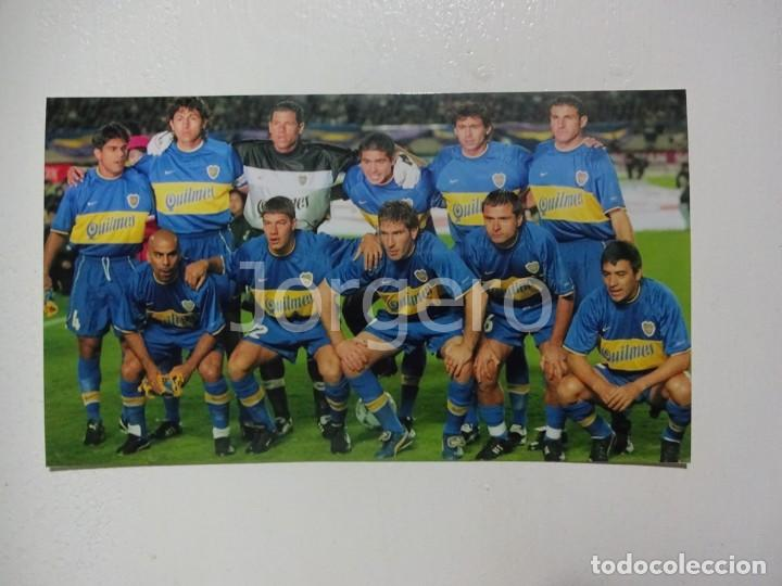 BOCA JUNIORS. ALINEACIÓN CAMPEÓN COPA INTERCONTINENTAL 2000 EN TOKIO CONTRA R. MADRID. FOTO (Coleccionismo Deportivo - Documentos - Fotografías de Deportes)