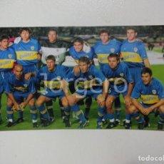 Coleccionismo deportivo - BOCA JUNIORS. ALINEACIÓN CAMPEÓN COPA INTERCONTINENTAL 2000 EN TOKIO CONTRA R. MADRID. FOTO - 160312470