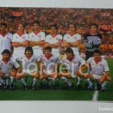 Coleccionismo deportivo: AS.ROMA. ALINEACIÓN FINALISTA COPA DE EUROPA 1983-1984 EN EL ESTADIO OLÍMPICO CONTRA LIVERPOOL. FOTO. Lote 229450425
