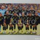 Coleccionismo deportivo: SELECCIÓN ESPAÑOLA DE FÚTBOL. ALINEACIÓN PARTIDO MUNDIAL 2014 EN BRASIL CONTRA AUSTRALIA. FOTO. Lote 160312886