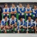 Coleccionismo deportivo: R.C.D. ESPANYOL. ALINEACIÓN PARTIDO DE LIGA 1972-1973 EN EL CAMP NOU CONTRA EL BARCELONA. FOTO. Lote 160312906