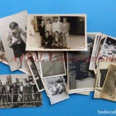 Coleccionismo deportivo: BOXEO 27 FOTOGRAFIAS - BEN BUKER Y OTROS BOXEADORES, VALENCIA - AÑOS 1940. Lote 162933654