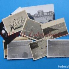 Coleccionismo deportivo: FUTBOL 13 FOTOGRAFIAS - ESTADIOS DE FUTBOL - AÑOS 1940-50. Lote 162934302