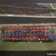 Coleccionismo deportivo: CLUB DE FUTBOL BARCELONA PLANTILLA TEMPORADA 1966-67-DANONE-ESCUDO DE ORO-BARÇA-VER FOTOS(V-16.827). Lote 163106762