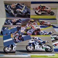 Coleccionismo deportivo: LOTE DE 11 FOTOS RELACIONADAS CON DEPORTE DE MOTOS - 30 X 20.CM APROX (ALGUNAS REPETIDAS). Lote 164974518