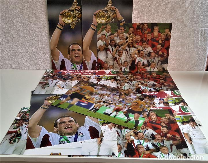 Coleccionismo deportivo: LOTE DE 11 FOTOS RELACIONADAS CON DEPORTE RUGBY - 30 X 20.CM APROX (ALGUNAS REPETIDAS) - Foto 2 - 164974886