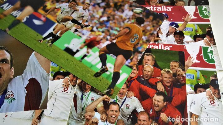 Coleccionismo deportivo: LOTE DE 11 FOTOS RELACIONADAS CON DEPORTE RUGBY - 30 X 20.CM APROX (ALGUNAS REPETIDAS) - Foto 4 - 164974886