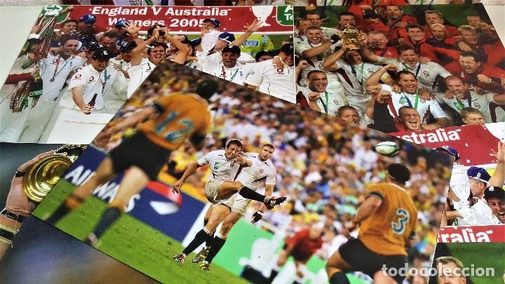 Coleccionismo deportivo: LOTE DE 11 FOTOS RELACIONADAS CON DEPORTE RUGBY - 30 X 20.CM APROX (ALGUNAS REPETIDAS) - Foto 5 - 164974886