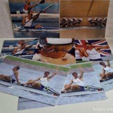 Coleccionismo deportivo: LOTE DE 7 FOTOS RELACIONADAS CON DEPORTE PIRAGUA Y CICLISMO - 30 X 20.CM APROX (ALGUNAS REPETIDAS). Lote 164975010