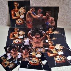 Coleccionismo deportivo: LOTE DE 13 FOTOS RELACIONADAS CON DEPORTE BOXEO, UFC, BELLATOR- 30 X 20.CM APROX (ALGUNAS REPETIDAS). Lote 164975410