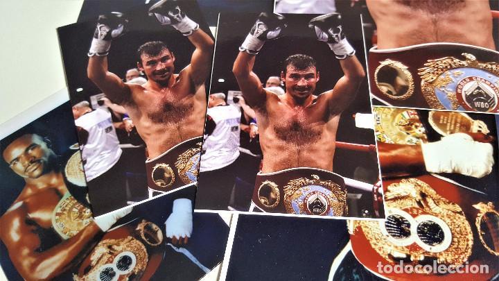 Coleccionismo deportivo: LOTE DE 13 FOTOS RELACIONADAS CON DEPORTE BOXEO, UFC, BELLATOR- 30 X 20.CM APROX (ALGUNAS REPETIDAS) - Foto 3 - 164975410