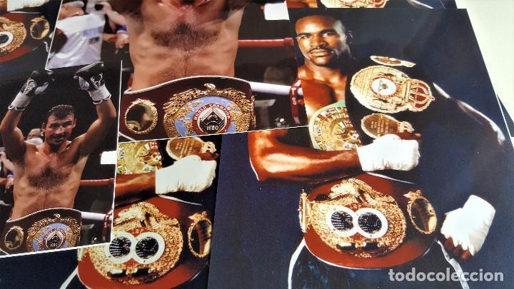 Coleccionismo deportivo: LOTE DE 13 FOTOS RELACIONADAS CON DEPORTE BOXEO, UFC, BELLATOR- 30 X 20.CM APROX (ALGUNAS REPETIDAS) - Foto 4 - 164975410