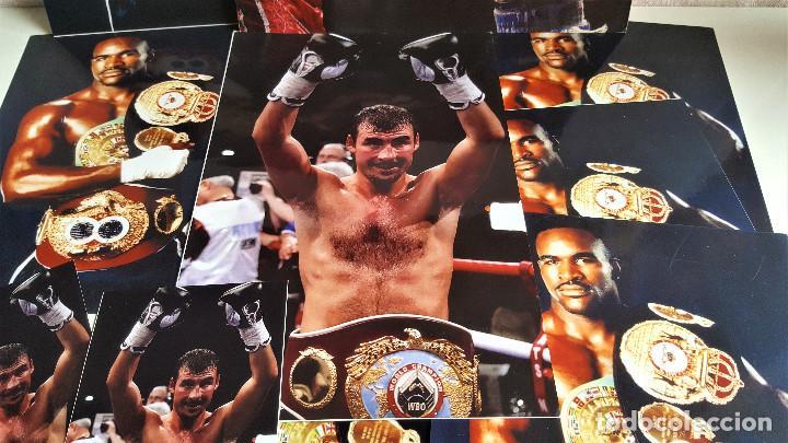 Coleccionismo deportivo: LOTE DE 13 FOTOS RELACIONADAS CON DEPORTE BOXEO, UFC, BELLATOR- 30 X 20.CM APROX (ALGUNAS REPETIDAS) - Foto 5 - 164975410