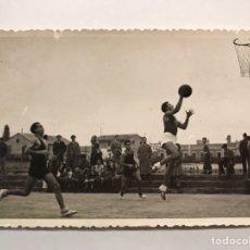 Coleccionismo deportivo: BALONCESTO. FOTOGRAFÍA (6). CAMPEONATO REGIONAL B.A.C - G.V (A.1944-45). Lote 275545613