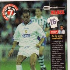 Coleccionismo deportivo: LOS HOMBRES DE LA 7 COPA DE EUROPA JAIME (REVERSO H7MARCA-VISITAR) MEDIDAS 145-105MM . Lote 165354786
