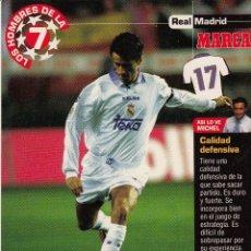 Coleccionismo deportivo: LOS HOMBRES DE LA 7 COPA DE EUROPA PANUCCI (REVERSO H7MARCA-VISITAR) MEDIDAS 145-105MM . Lote 165354914