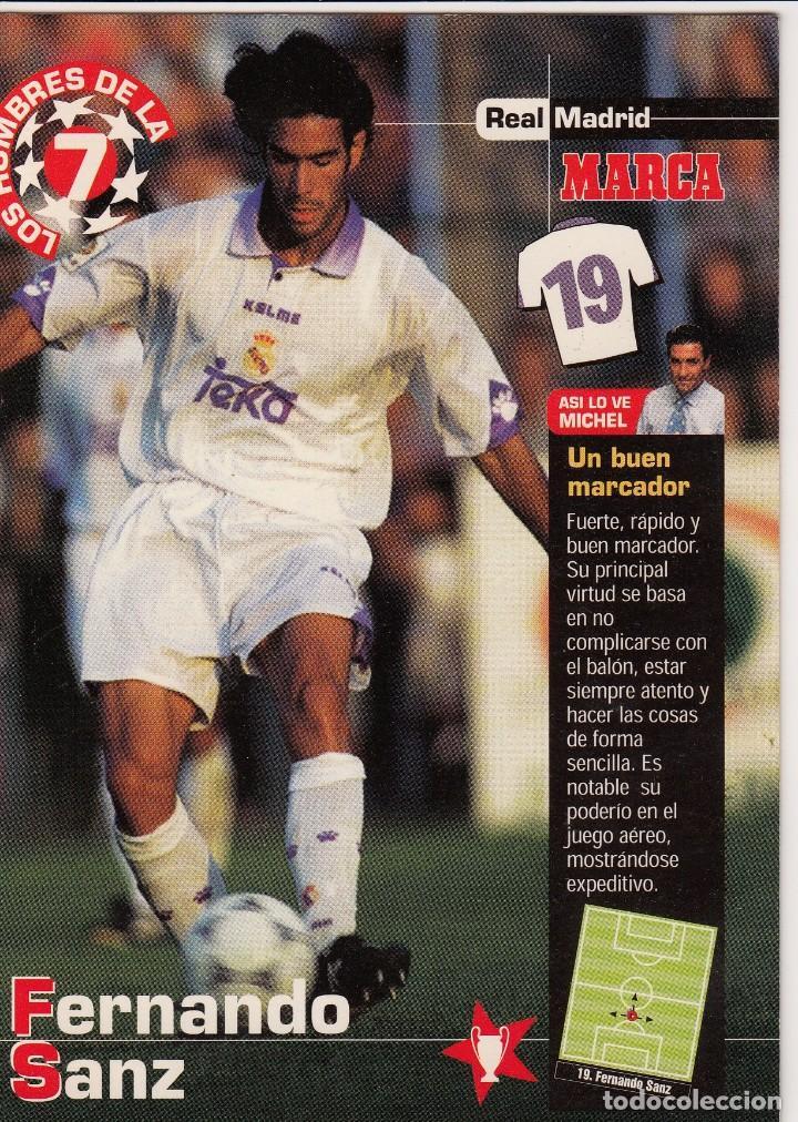 LOS HOMBRES DE LA 7 COPA DE EUROPA F. SANZ (REVERSO H7MARCA-VISITAR) MEDIDAS 145-105MM (Coleccionismo Deportivo - Documentos - Fotografías de Deportes)