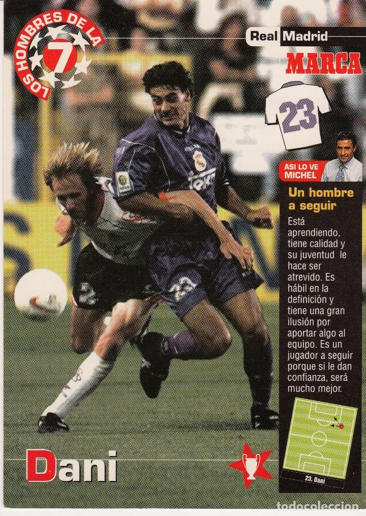 LOS HOMBRES DE LA 7 COPA DE EUROPA DANI (REVERSO H7MARCA-VISITAR) MEDIDAS 145-105MM (Coleccionismo Deportivo - Documentos - Fotografías de Deportes)