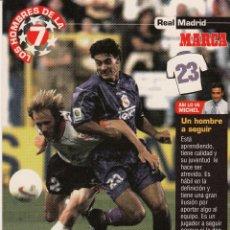 Coleccionismo deportivo: LOS HOMBRES DE LA 7 COPA DE EUROPA DANI (REVERSO H7MARCA-VISITAR) MEDIDAS 145-105MM . Lote 165355398
