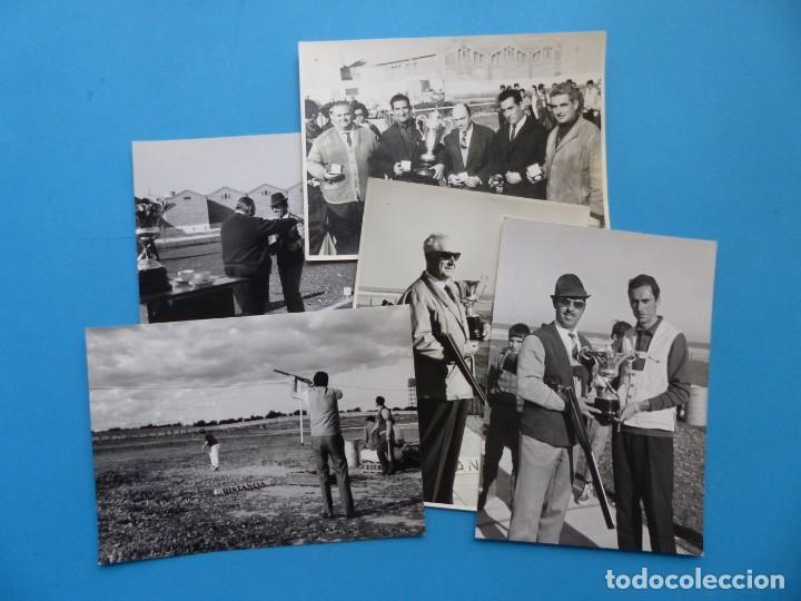 TIRO PICHON, 5 FOTOGRAFIAS, VALENCIA - AÑOS 1960 (Coleccionismo Deportivo - Documentos - Fotografías de Deportes)