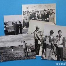 Coleccionismo deportivo: TIRO PICHON, 5 FOTOGRAFIAS, VALENCIA - AÑOS 1960. Lote 165639718