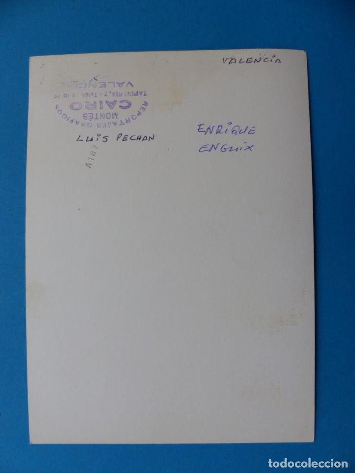 Coleccionismo deportivo: TIRO PICHON, 5 FOTOGRAFIAS, VALENCIA - AÑOS 1960 - Foto 3 - 165639718
