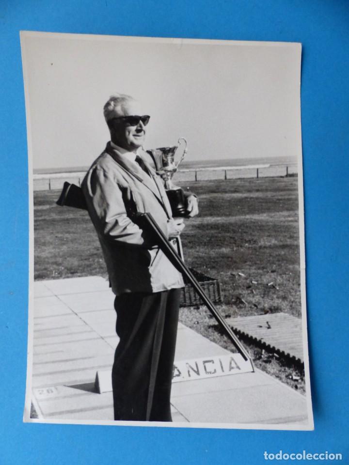 Coleccionismo deportivo: TIRO PICHON, 5 FOTOGRAFIAS, VALENCIA - AÑOS 1960 - Foto 6 - 165639718