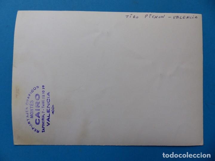 Coleccionismo deportivo: TIRO PICHON, 5 FOTOGRAFIAS, VALENCIA - AÑOS 1960 - Foto 9 - 165639718