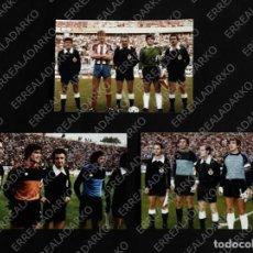 Coleccionismo deportivo: LOTE 3 FOTOGRAFIAS 10X15 ARCONADA PARTIDOS SPORTING GIJON-REAL SOCIEDAD AÑOS 80. Lote 165667310