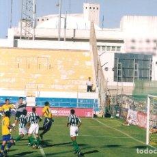 Coleccionismo deportivo: FOTOGRAFÍA ORIGINAL TROFEO CARRANZA CÁDIZ CF REAL BETIS . Lote 166404978