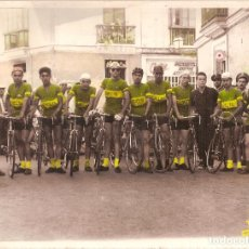 Coleccionismo deportivo: FOTOGRAFÍA ORIGINAL EQUIPO CICLISTA ESBELTA . Lote 166405342