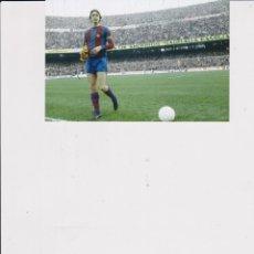 Coleccionismo deportivo: BARÇA: FOTOGRAFÍA DE JOHAN CRUYFF COMO CAPITÁN BARCELONISTA.. Lote 166636246