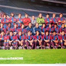 Coleccionismo deportivo: F-4111. FC BARCELONA. FOTOGRAFIA EN COLOR DEL EQUIPO . INICIO DE LA TEMPORADA 1978 / 79. Lote 168094488